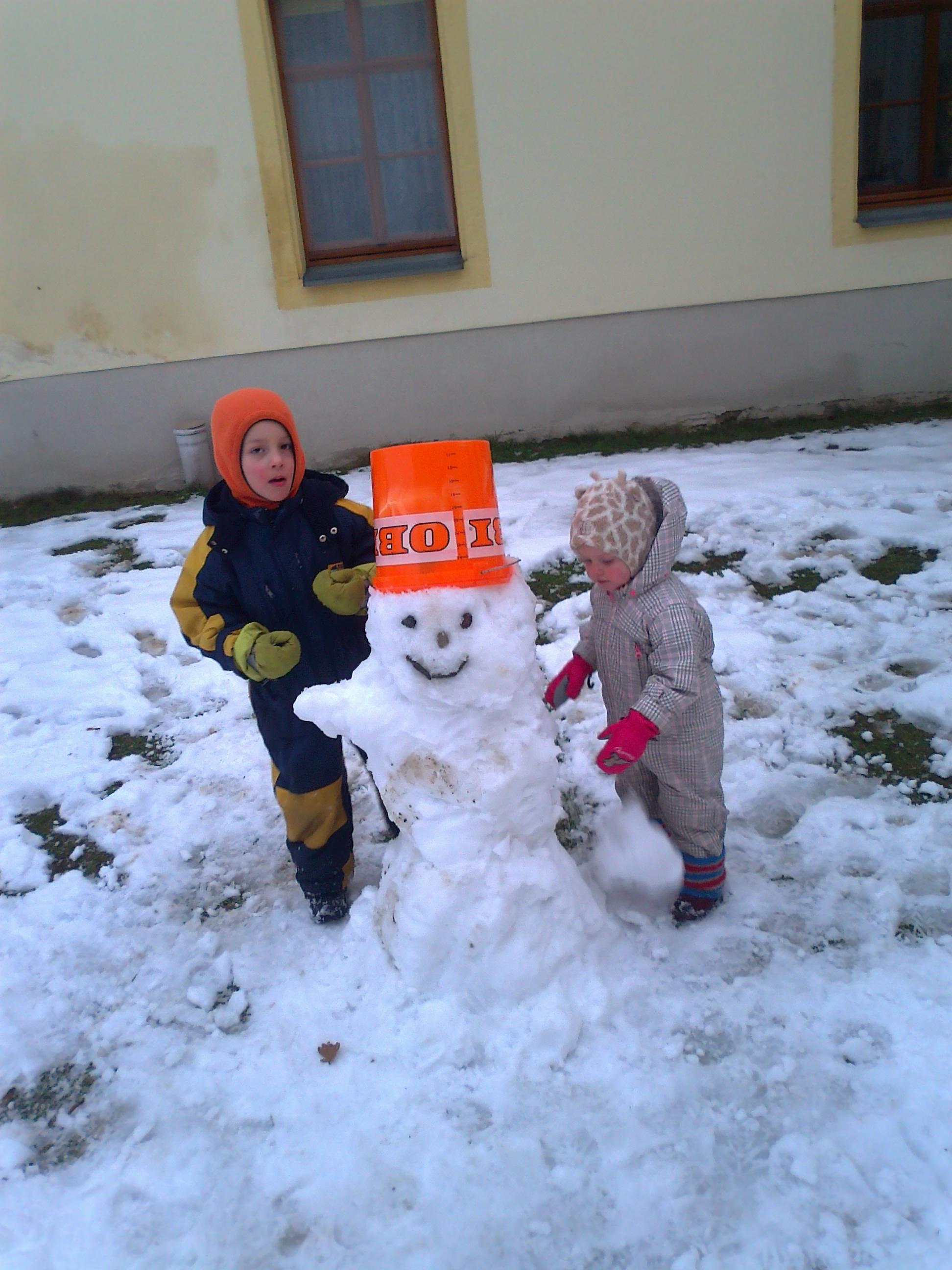 Der Winter kann auch Freude machen.