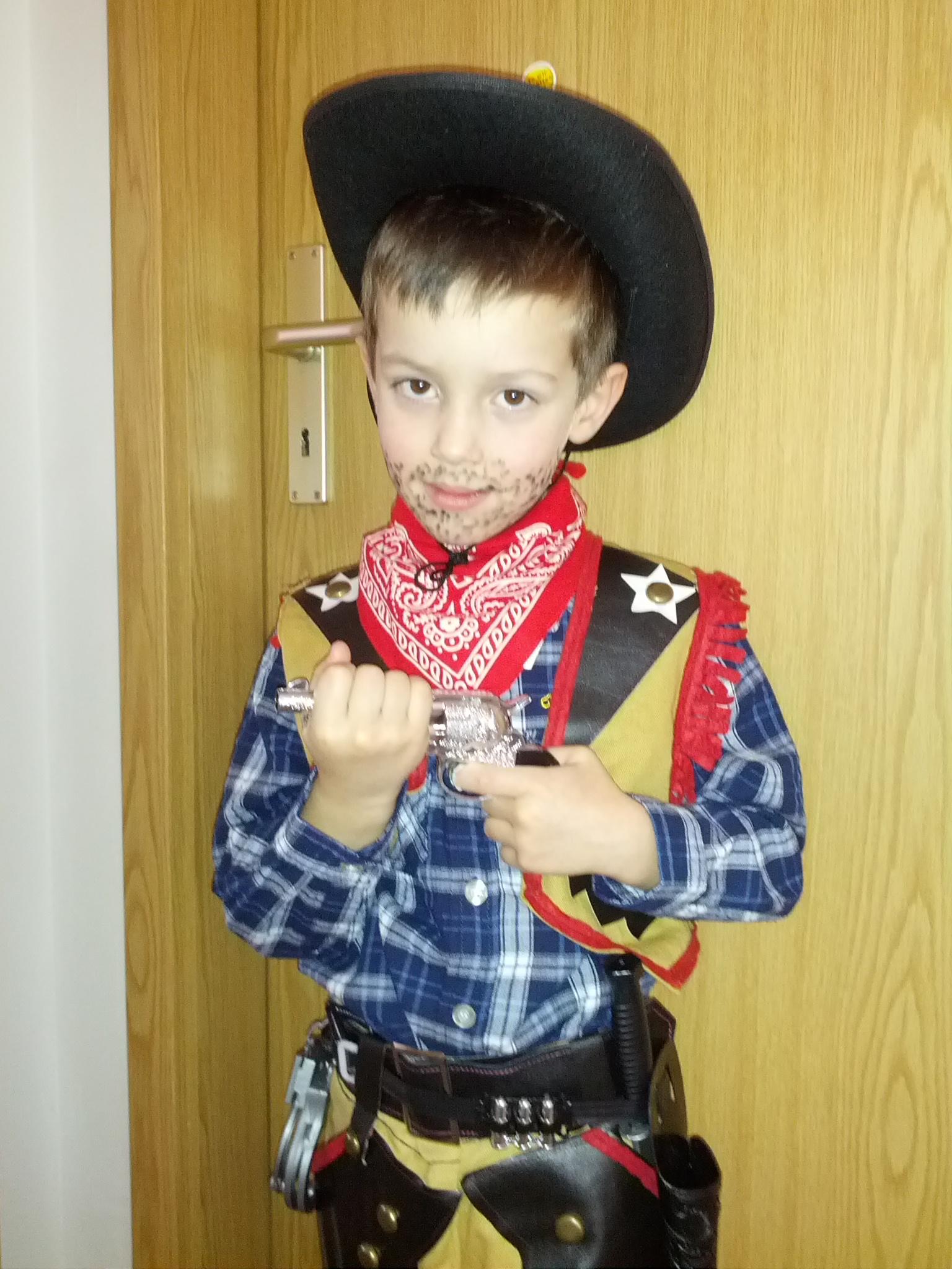 Der neue Sheriff von Thum. Stilecht!