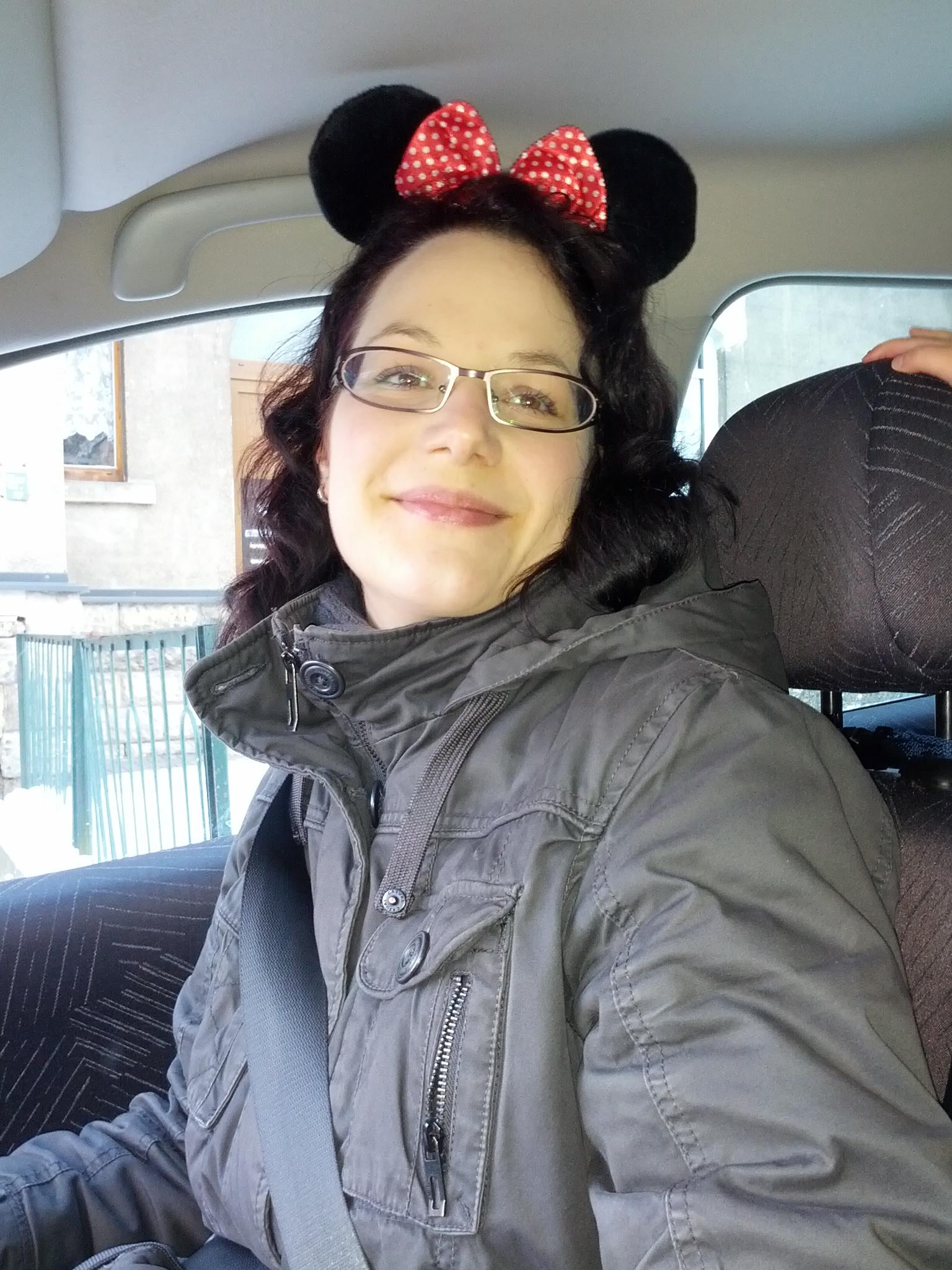 Mama als süße Maus.